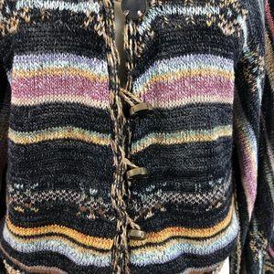 Free People Sweaters - Free People Kimono Striped Bell Sleeve Cardigan
